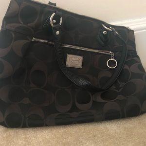 Slouchy Coach Handbag